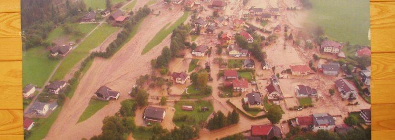 Spende zugunsten der Unwetteropfer von Afritz